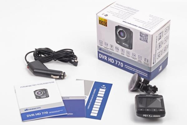 PARKCITY DVR HD 770 – заводская коробка