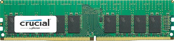 Серверный модуль Crucial RDIMM ёмкостью 16 Гигабайт