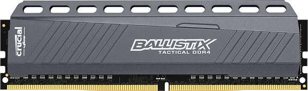 Модуль Crucial Ballistix Tactical ёмкостью 16 Гигабайт