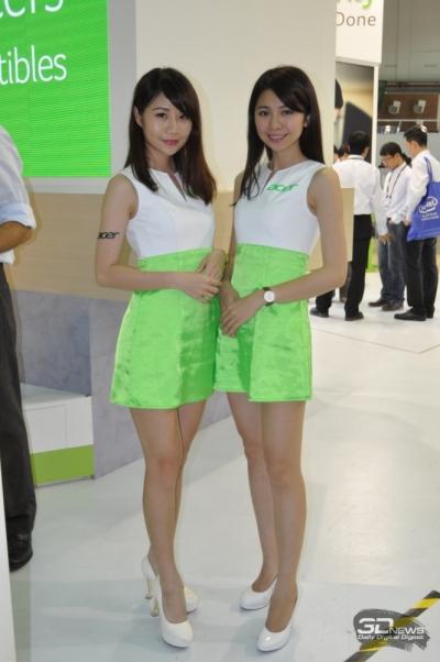 Ослепительные представительницы компании Acer
