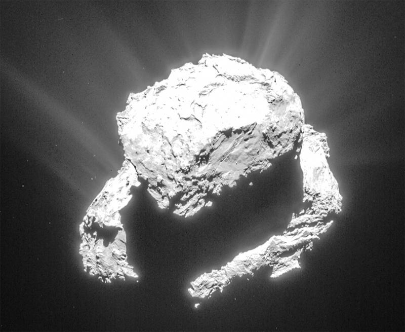Фото дня: комета Чурюмова-Герасименко на пути к Солнцу