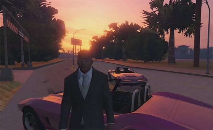 Моддер воссоздал GTA: Vice City на движке GTA V