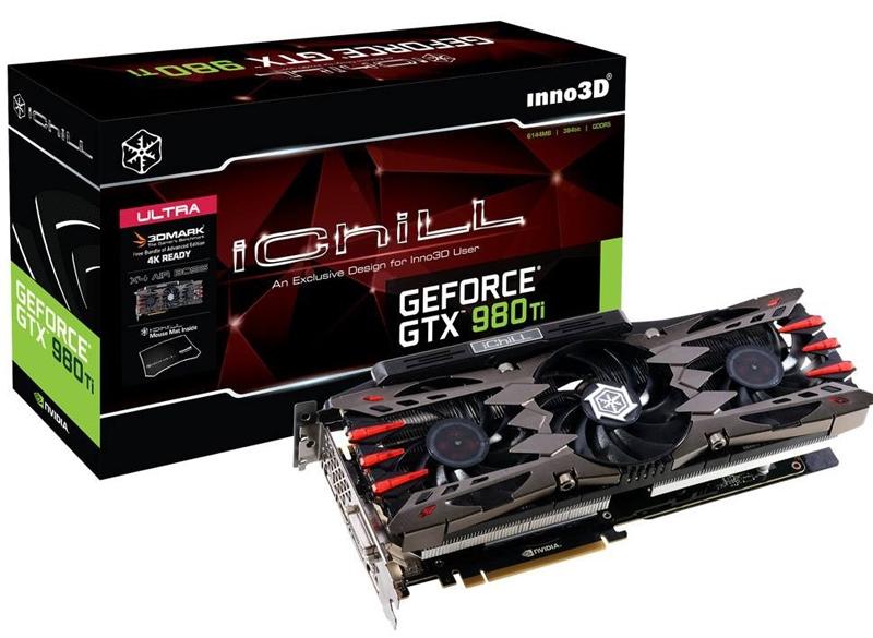 Видеокарта Inno3D GeForce GTX 980 Ti iChill X4 Ultra