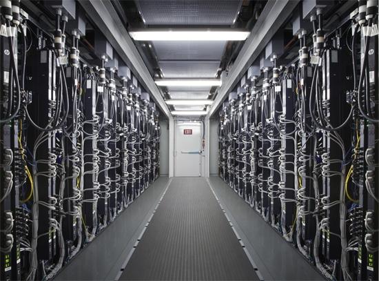 В центре обработки данных