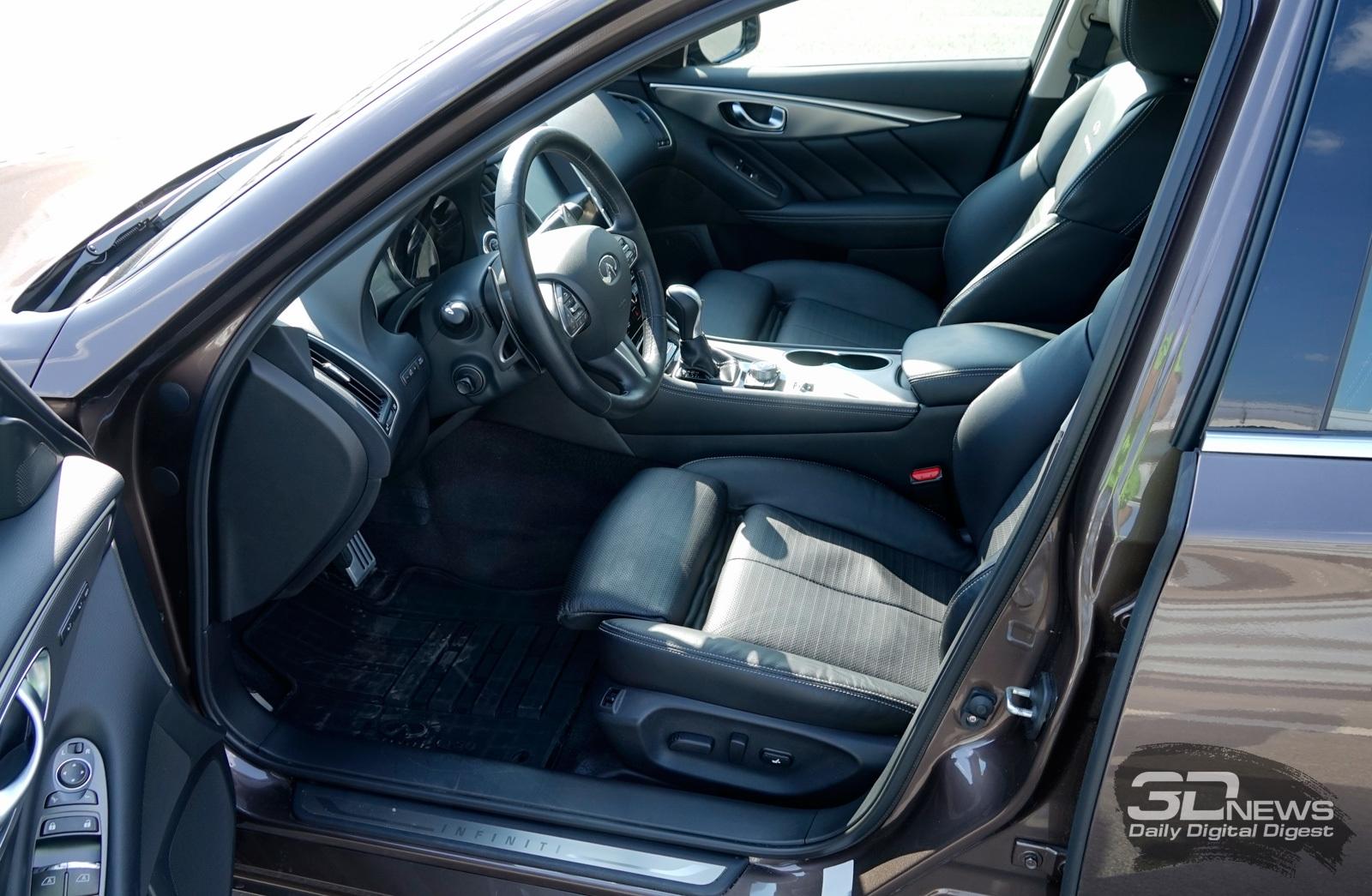 Обзор автомобиля Infiniti Q50: настоящий «гикмобиль»