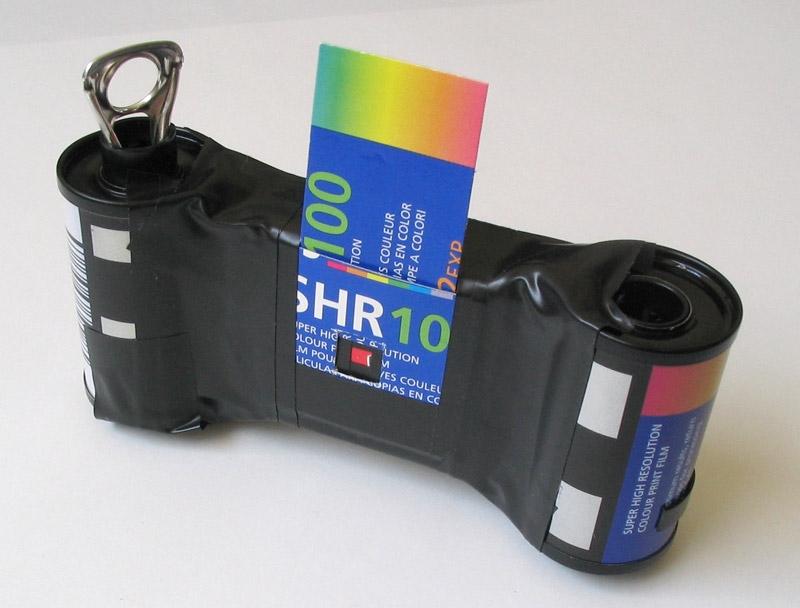 Рабочий фотоаппарат из спичечного коробка