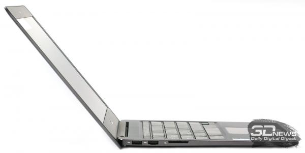 ASUS Zenbook UX305F в раскрытом состоянии