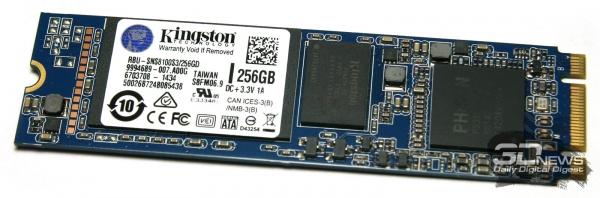The SSD Kingston module RBU-SNS8100S3 / 256GD &quot;height =&quot; 198 &quot;width =&quot; 600 &quot;/&gt; </a></p> <div class=