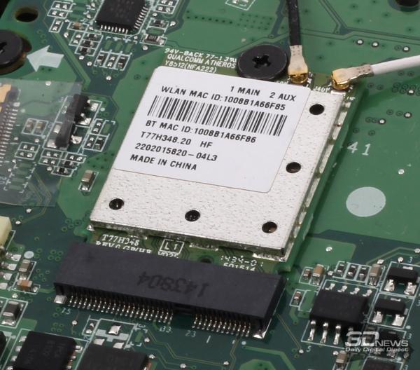 Qualcomm Atheros AR5BWB222 wireless communication module &quot;height =&quot; 528 &quot;width =&quot; 600 &quot;/&gt; </a></p> <div class=