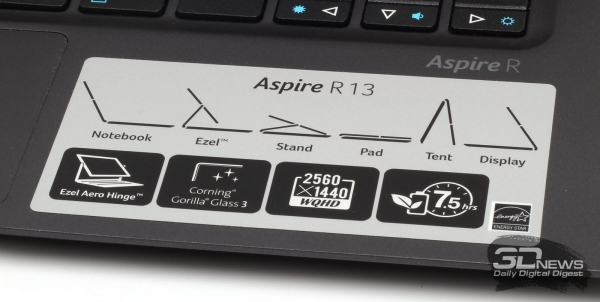 Variants of work with Acer Aspire R13 from the manufacturer &quot;height =&quot; 302 &quot;width =&quot; 600 &quot;/&gt; </a></p> <div class=