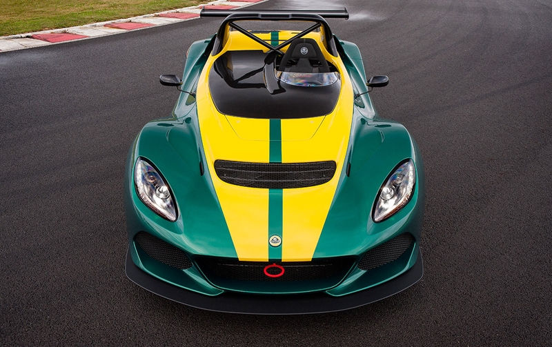 Спорткар Lotus 3-Eleven разгоняется до 100 км