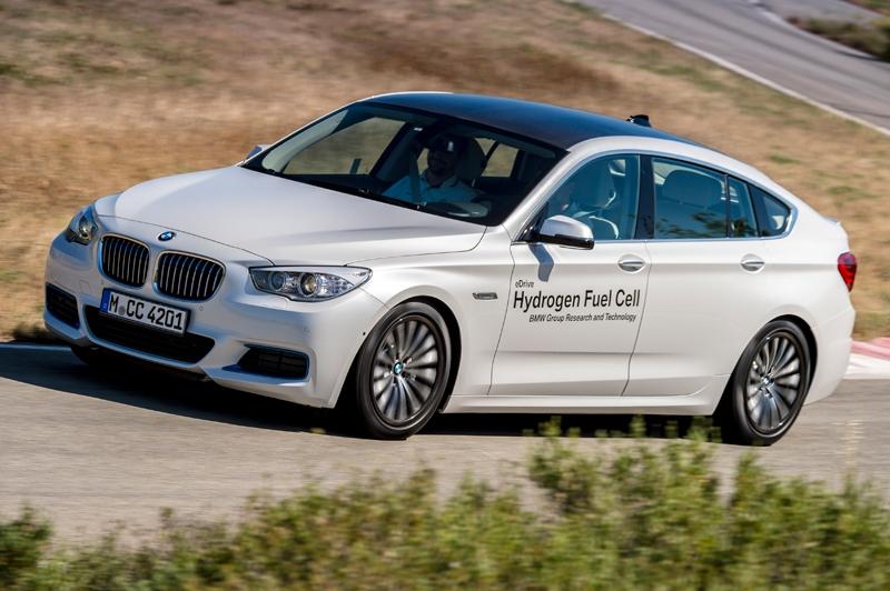 Прототипы автомобилей BMW с водородной силовой установкой