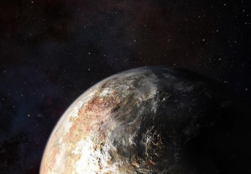 Плутон в представлении художника