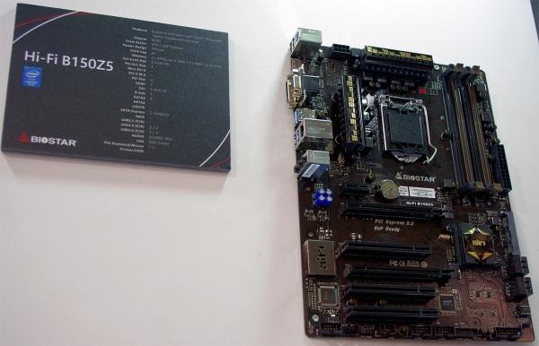 Biostar Hi-Fi B150Z5. Фото веб-сайта AnandTech