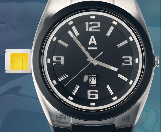 """AlfaPay: наручные часы с технологией бесконтактной оплаты MasterCard PayPass"""""""