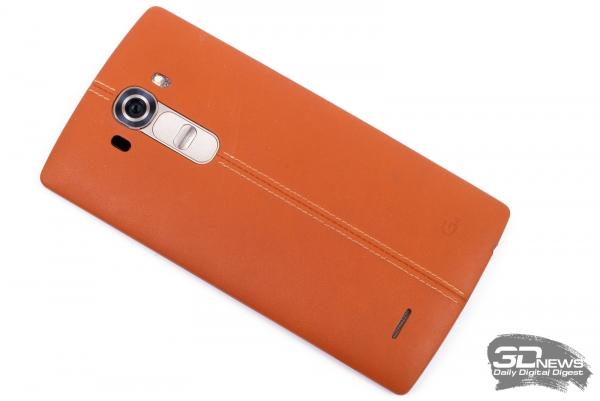 LG G4 – задняя панель