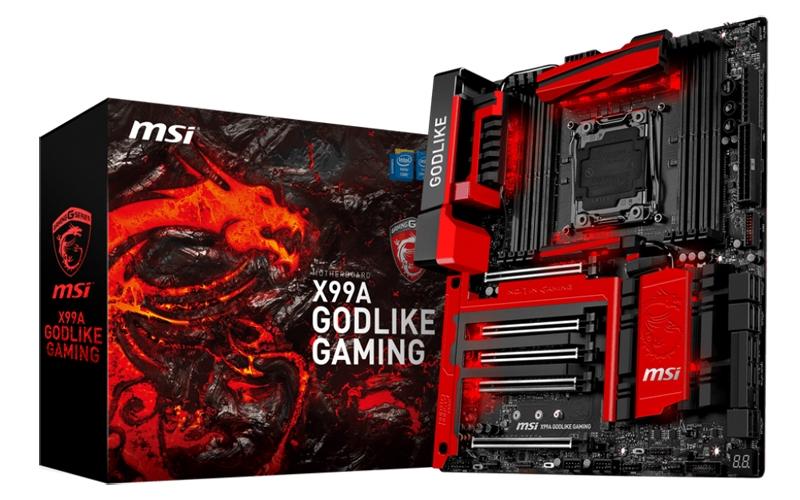 Для топовых компьютерных игр MSI X99A Godlike Gaming