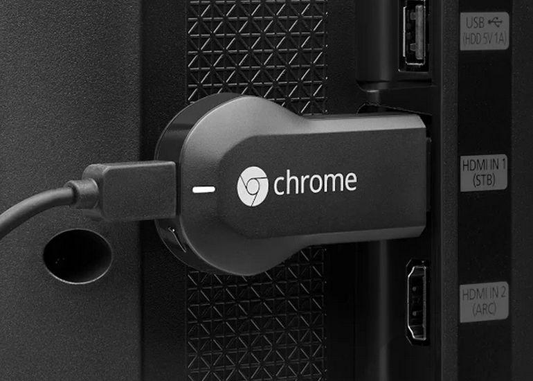 Ethernet-адаптер для ТВ-брелока Chromecast