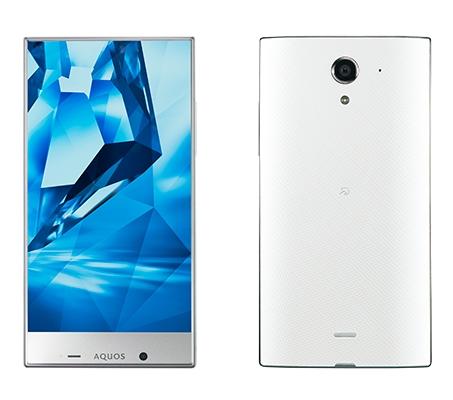Sharp Aquos Crystal Y: «безрамочный» смартфон с аудиосистемой Harman/Kardon