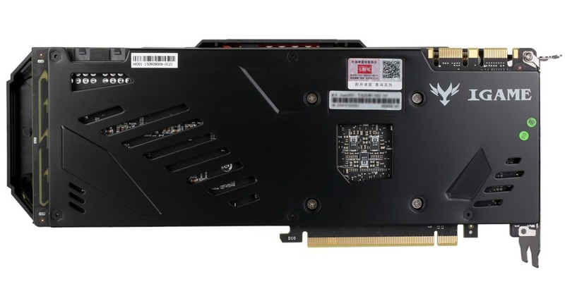 Ядро видеокарты Colorful GeForce GTX 980 Ti iGame Ymir-X работает на частоте до 1216 МГц
