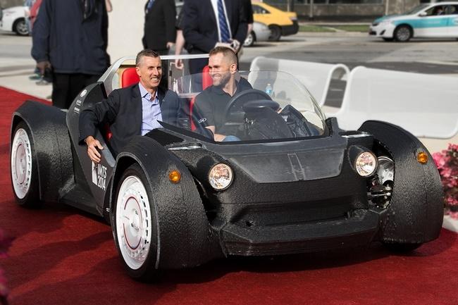 Local Motors готовится к производству новых авто с напечатанным на 3D-принтере кузовом
