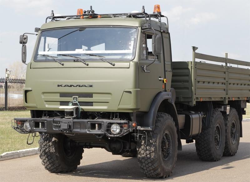 Эксплуатация беспилотных «КАМАЗов» начнётся в России в 2020 году