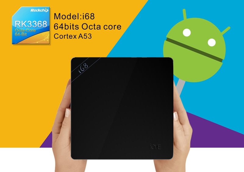 Beelink i68: ТВ-приставка с 8-ядерным процессором и ОС Android 5.1