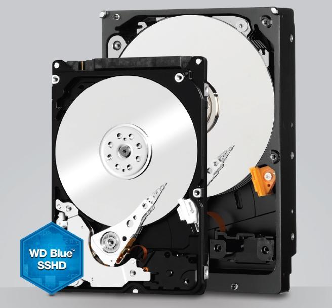 В продажу поступили гибридные жёсткие диски WD Blue SSHD