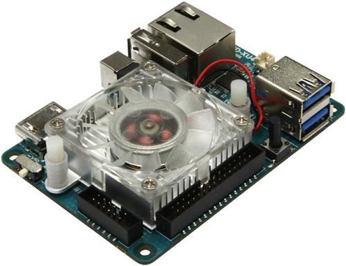 Одноплатный мини-компьютер с 8-ядерным чипом Exynos