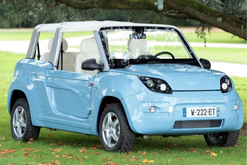 Bluesummer: электрический кабриолет с пластиковым кузовом