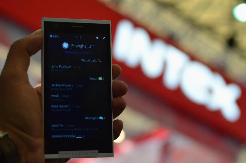 MWC Shanghai 2015: смартфон Intex Aqua Fish построен на платформе Sailfish OS 2.0
