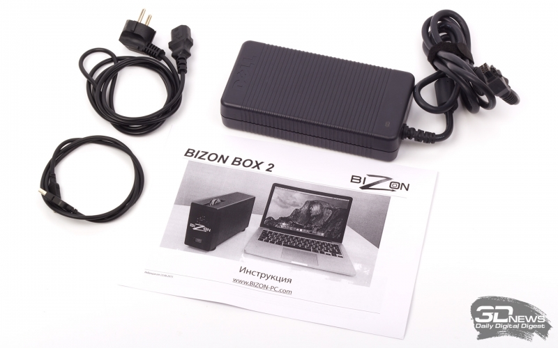 Обзор BizonBOX 2: бокс для внешней видеокарты с интерфейсом Thunderbolt 2