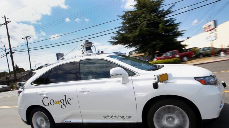 ДТП с участием робомобиля Google