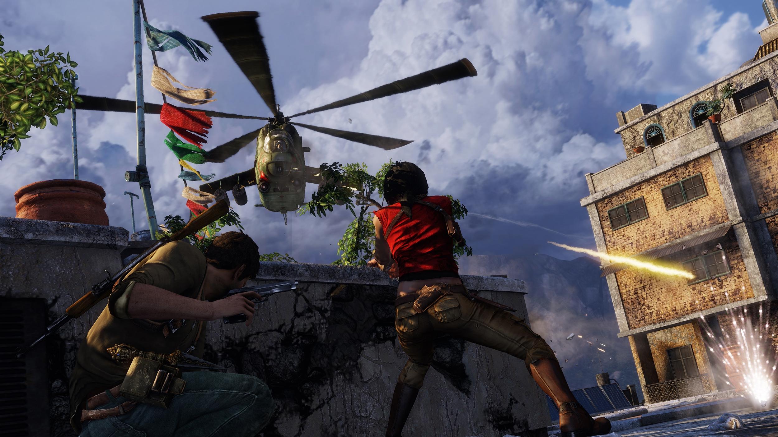 Обновлённую графику PS4-версии Uncharted 2 показали в видеоролике