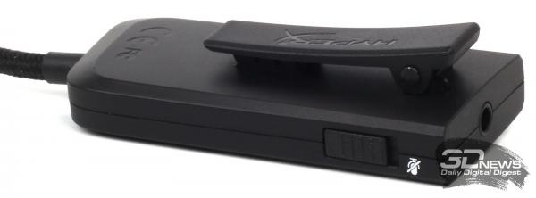USB-блок со звуковой картой и пультом управления