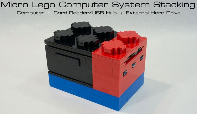 Мини-ПК в корпусе из конструктора: Micro Lego Computer