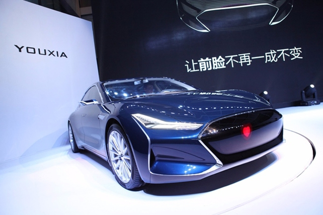 Электромобиль Youxia X: китайский клон Tesla Model S