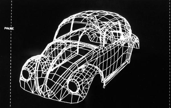 Результат «ручной» оцифровки автомобиля