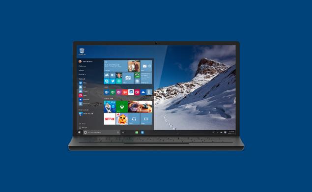 Компания Microsoft официально выпустила Windows 10