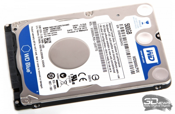HDD HDD Western Digital WD5000LPVX &quot;height =&quot; 392 &quot;width =&quot; 600 &quot;/&gt; </a></p> <div class=
