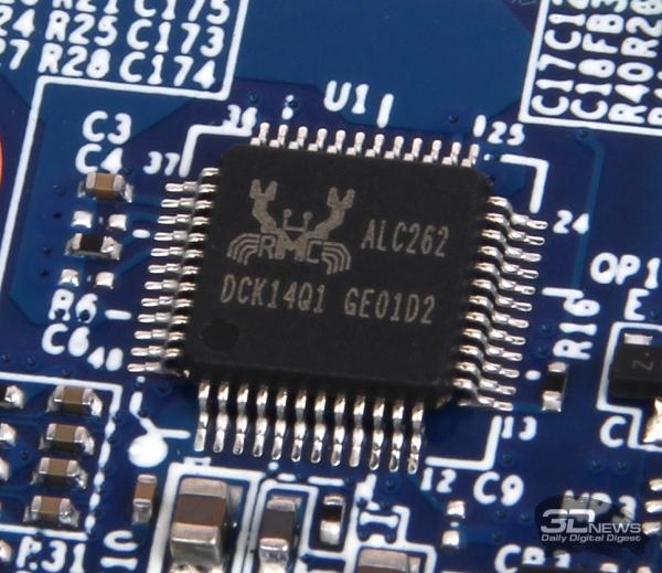 Аудиоконтроллер Realtek ALC262