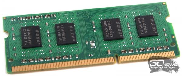 Предустановленный модуль оперативной памяти