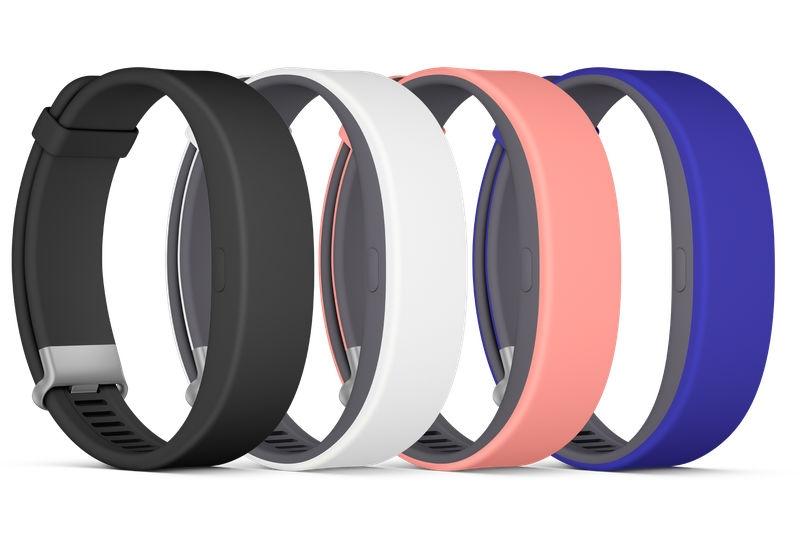 Sony представила влагозащищенный умный браслет SmartBand 2 с датчиком ЧСС