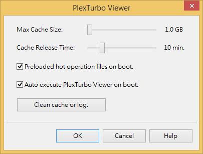 Настройки PlexTurbo