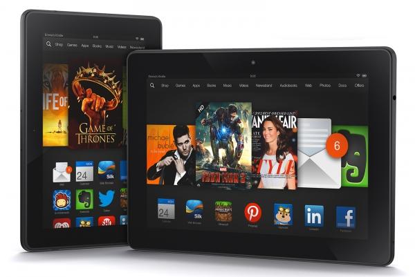 Amazon и Microsoft готовят большие планшеты