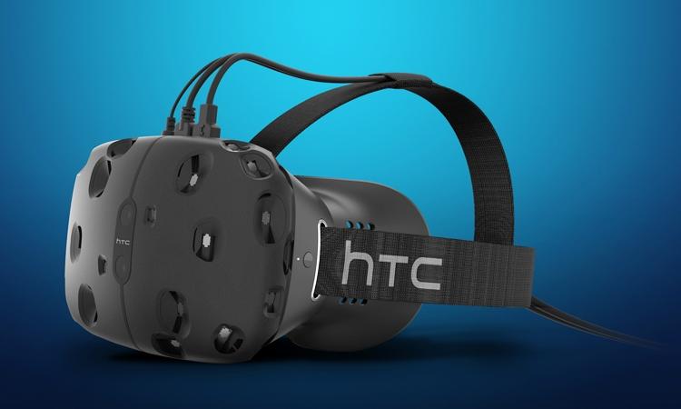 Шлем виртуальной реальности HTC Vive будет доступен ограниченным тиражом в этом году