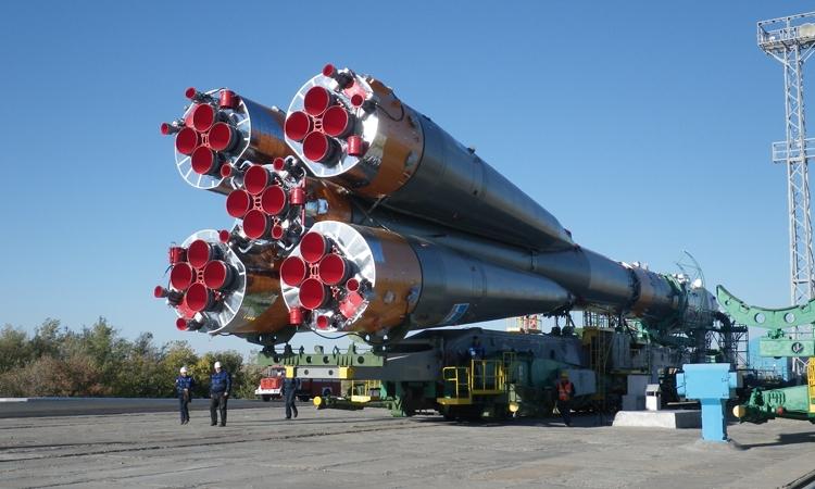 Ракета «Союз-ФГ» готова к доставке на МКС