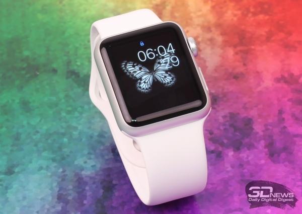 Продано 10 тыс.«умных» часов Apple Watch в РФ