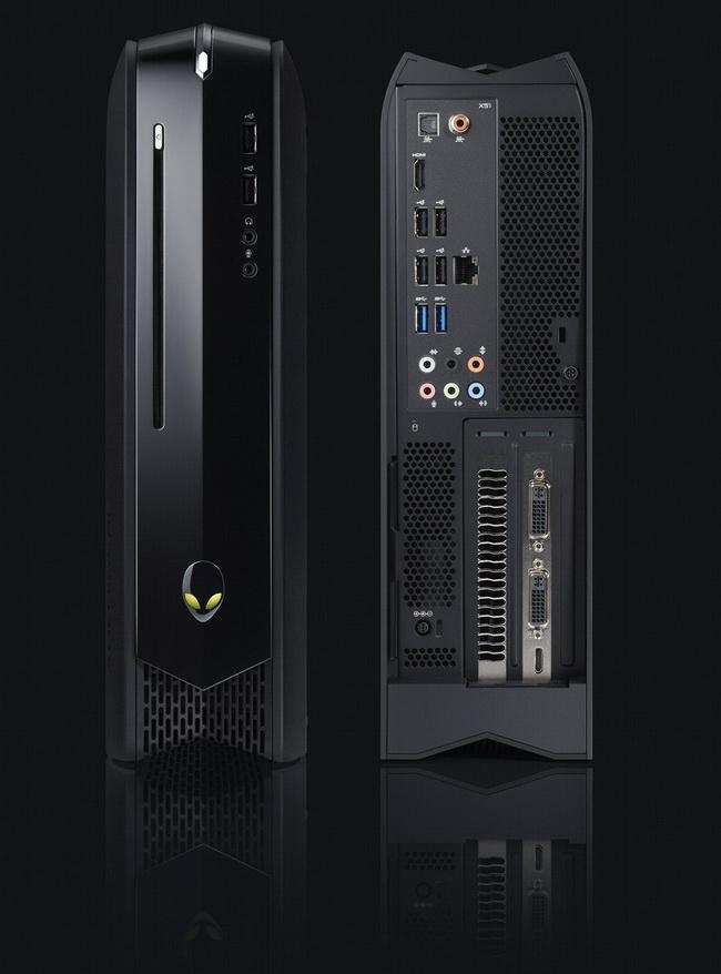 Alienware X51: вмещается даже двухслотовая карта памяти