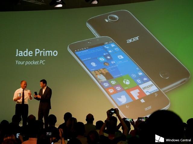 Acer добавила в свое портфолио три Android-смартфона и один смартфон на базе Windows 10